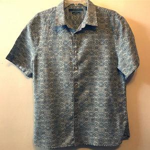 """Perry Ellis """"Quarry Principals"""" Short Sleeve Shirt"""